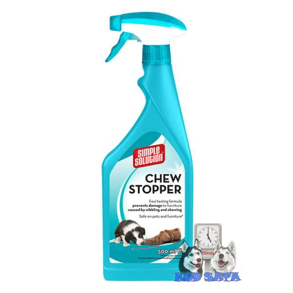 Simple Solution Chew Stopper 750ml